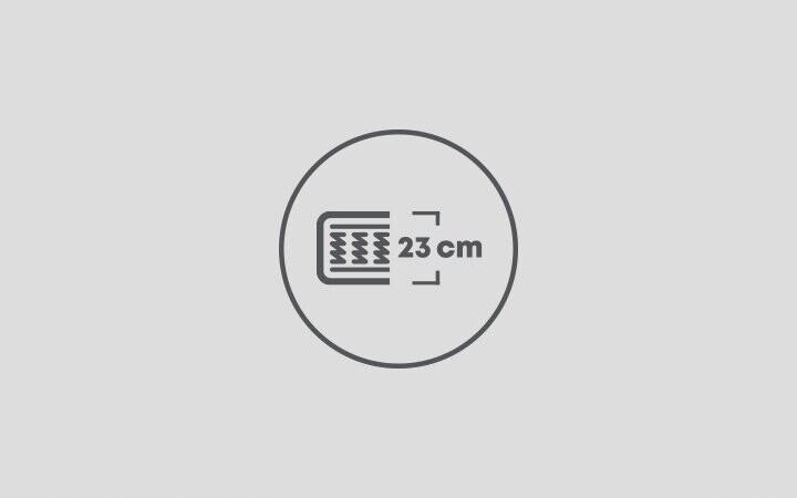 23 cm Yatak Yüksekliği
