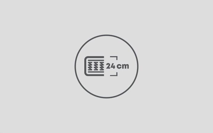 24 cm Yatak Yüksekliği