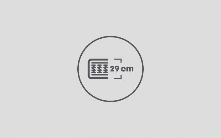 29 cm Yatak Yüksekliği