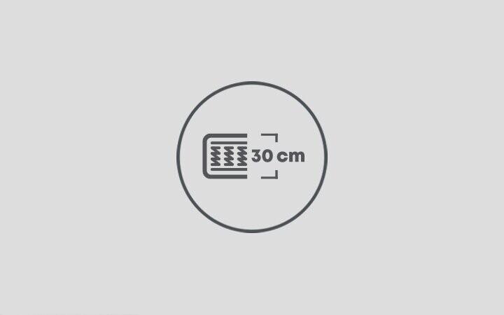 30 cm Yatak Yüksekliği