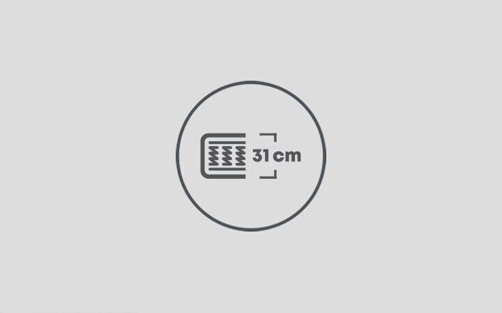 31 cm Yatak Yüksekliği