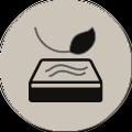 Aloe Vera kumaşı sayesinde cildi rahatlatıcı ve dinlendirici bir uyku sunar .