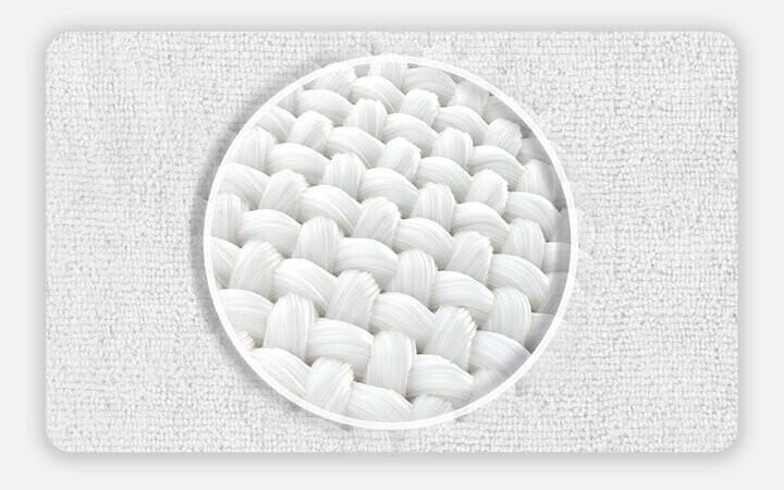 Microfiber lifler parlaklık, yumuşaklık, kolay kuruma ve ekstra temiz özelliği katmaktadır. Bazı kir, toz ve bakteri gibi çeşitli maddeleri yakalayıp absorbe ederek uygun uyku ortamını sağlar.