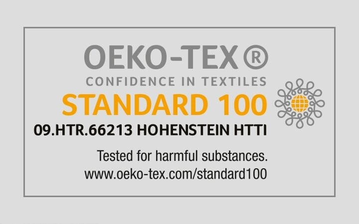OEKO-TEX®, çevre dostu ve sosyal sorumluluk bilinciyle üretilen tekstil ürünleri için uluslarası belgedir. İnsan sağlığı ve gücenliği açısından zararsız tekstil ürünlerini belgeler.